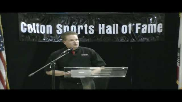 2011 Colton Sports Hall of Fame~Induction Ceremony