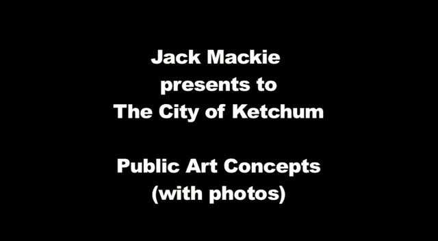 Jack Mackie Presentation