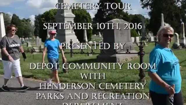 2016 Fernwood Cemetery Tour