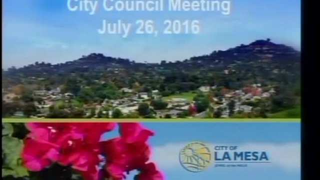 Council Meetings 7-26-2016