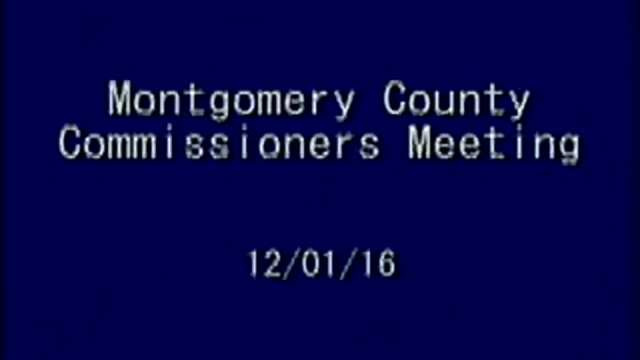 12/1/2016 Commissioners Meeting