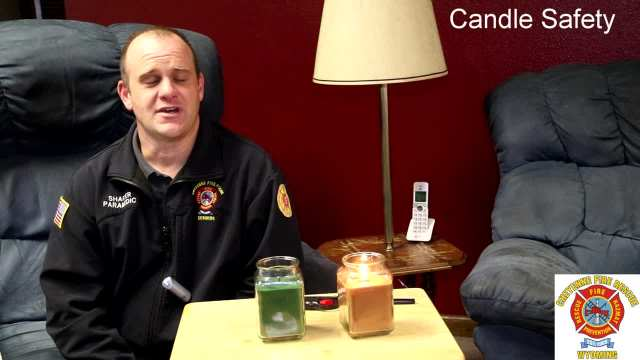 Cheyenne Fire & Rescue Talks About Candle Safety