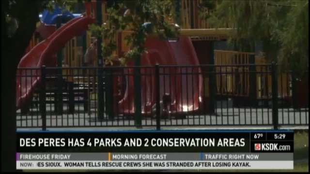 KSDK Firehouse Friday:  Des Peres Parks