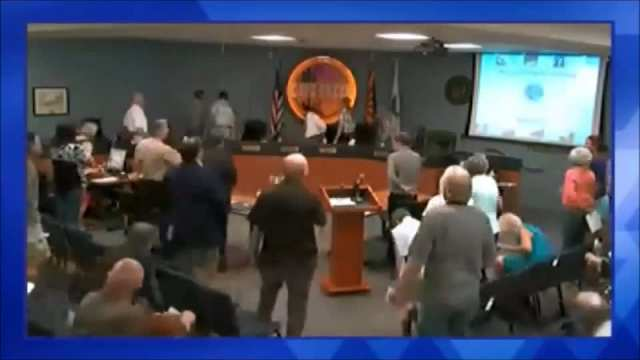 Town Council Meeting April 21, 2014