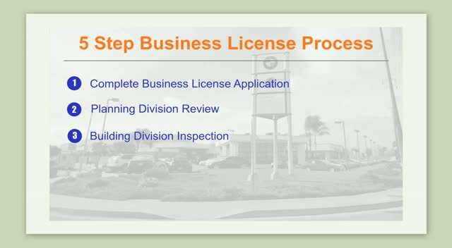 5-Step Process to Obtain a Business License