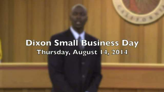 Dixon Small Business Day 2014