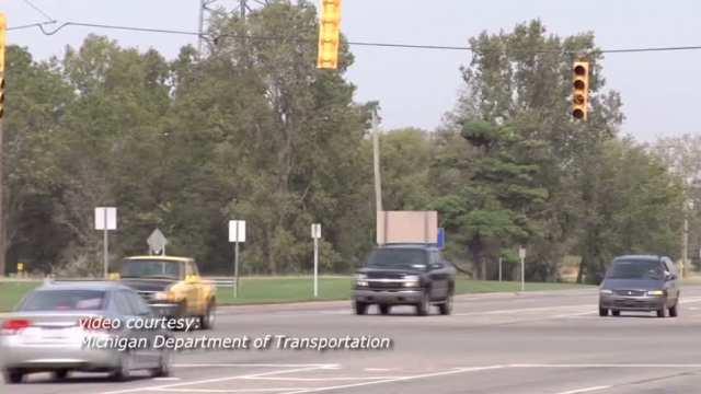 Flashing Yellow Arrow Left Turn Signal