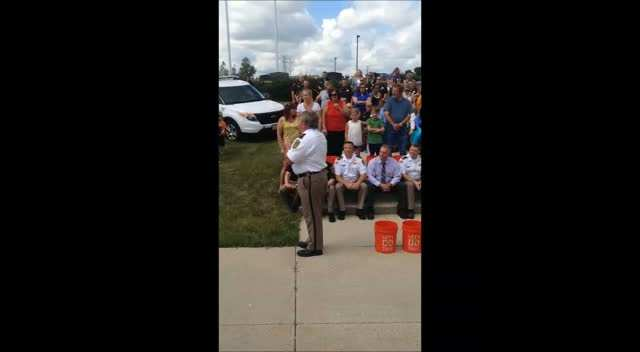 Sheriff's Ice Bucket Challenge