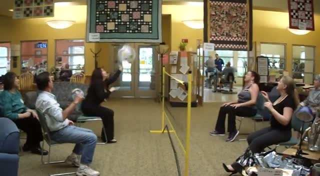 Chair Volleyball