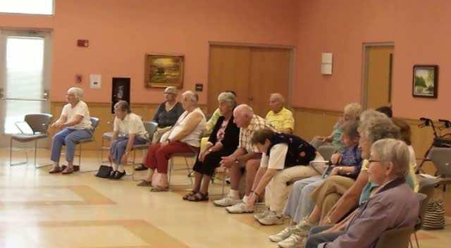 African Dance Demo at Northampton Senior Center