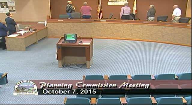 Planning Commission Meeting 10/7/2015