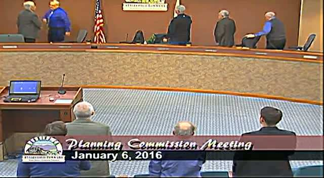Planning Commission Meeting 1/6/2016