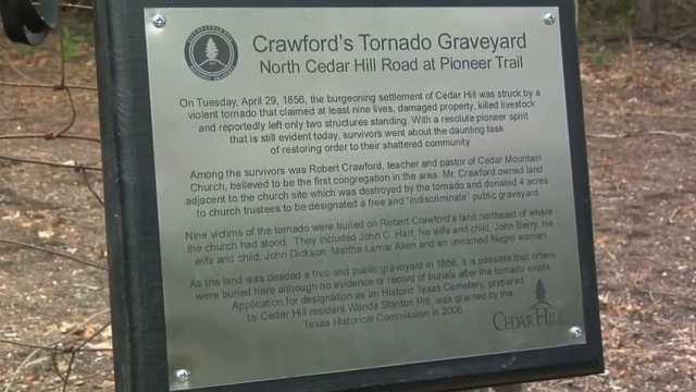 Crawford Tornado Graveyard Blessing