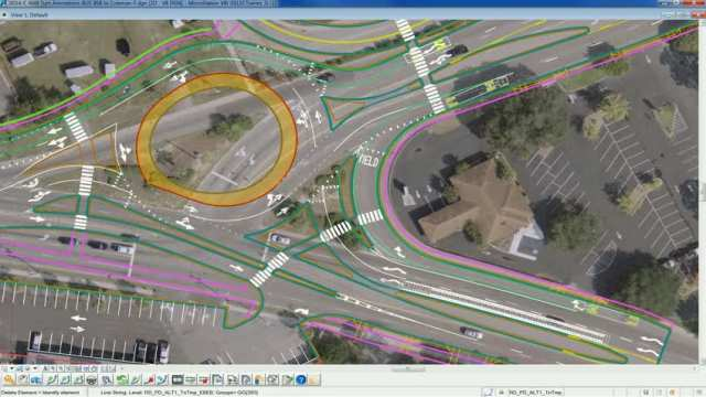 Traffic simulation Ben Sawyer to Coleman Blvd.