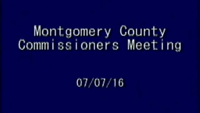 07/07/2016 Commissioners Meeting