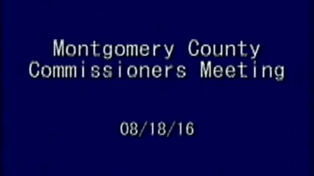 08/18/2016 Commissioners Meeting