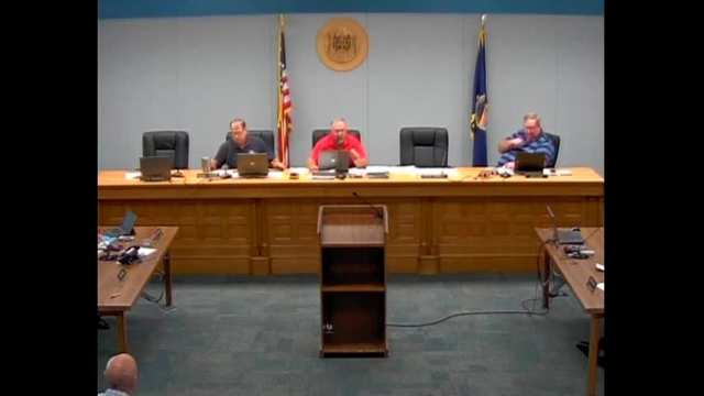 Franklin County Commission Meeting 09.07.2016
