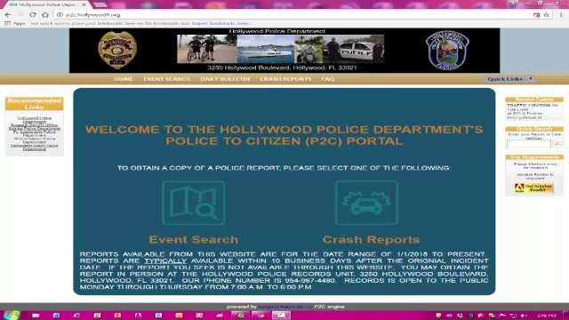 Police to Citizen Portal Tutorial