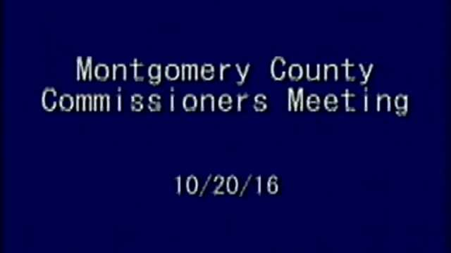 10/20/2016 Commissioners Meeting