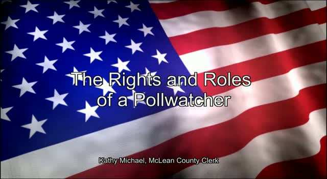 The Rights and Roles of a Pollwatcher