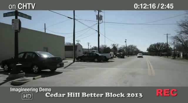 Cedar Hill Better Block