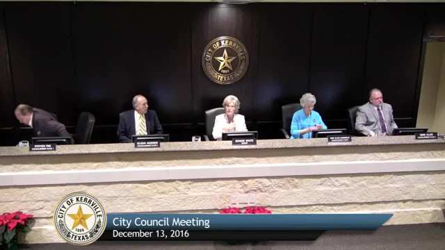 City Council Meeting - December 13, 2016