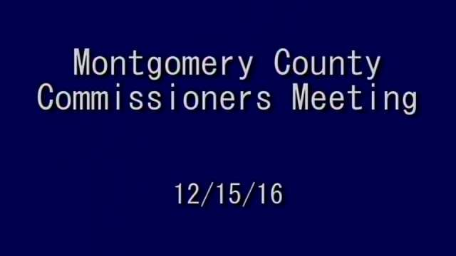 12/15/2016 Commissioners Meeting - Part 2