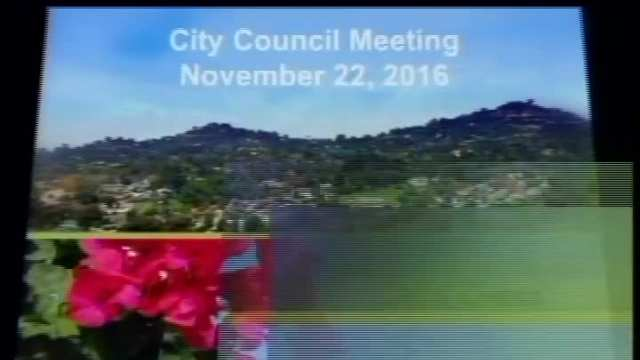 Council Meeting 11-22-2016