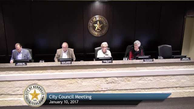 City Council Meeting - January 10, 2017