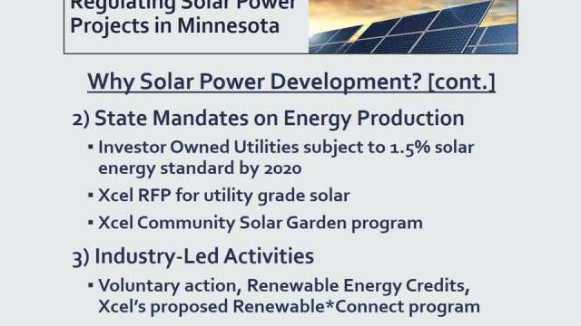 Solar Projects in  Minnesota