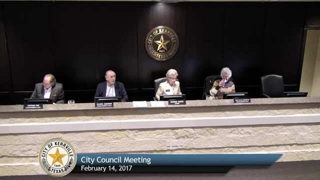 City Council Meeting - February 14, 2017