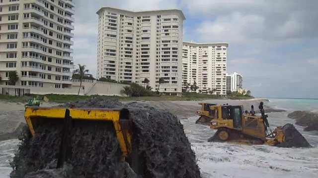 Central Beach Renourishment Feb 2017