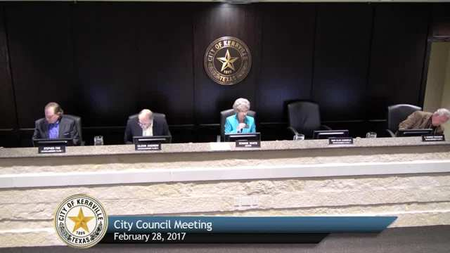 City Council Meeting - February 28, 2017
