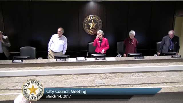 City Council Meeting - March 14, 2017