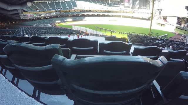 Installing seats at Chase Field - time lapse