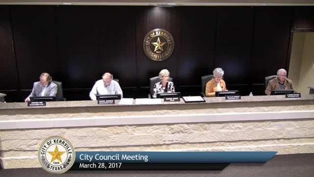 City Council Meeting - March 28, 2017
