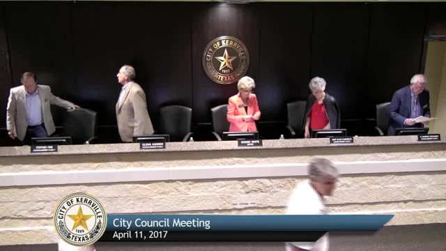 City Council Meeting - April 11, 2017
