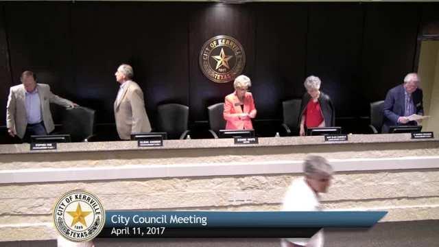 City Council Meeting - April 11, 2017