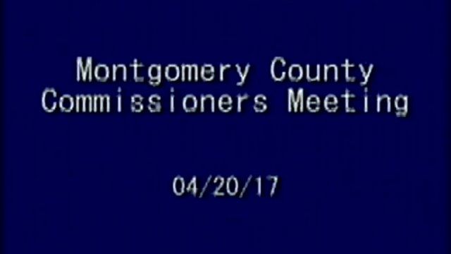 4/20/17 Commissioners Meeting