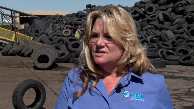 Maricopa County tire recycling partnership