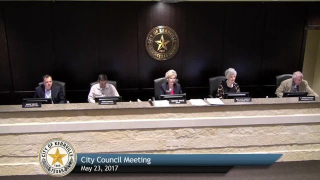 City Council Meeting - May 23, 2017