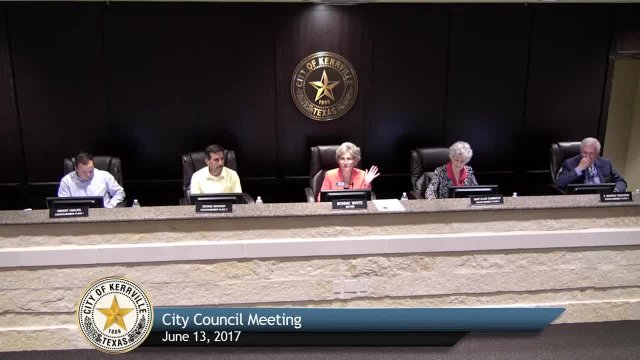 City Council Meeting - June 13, 2017