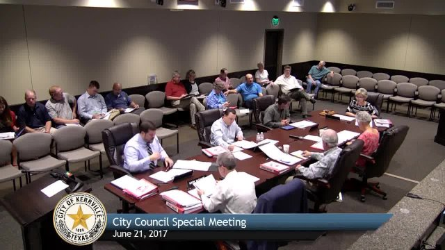 City Council Budget Workshop - June 21, 2017