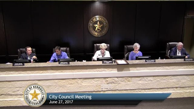 City Council Meeting - June 27, 2017
