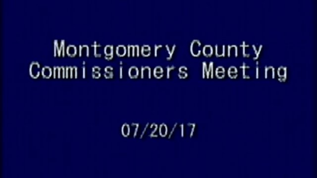 7/20/2017 Commissioners Meeting