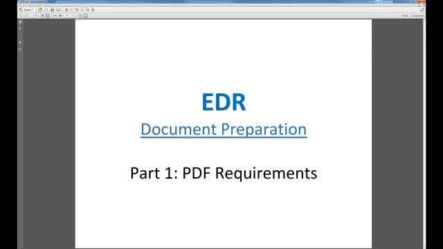 Document Req (Part 1)