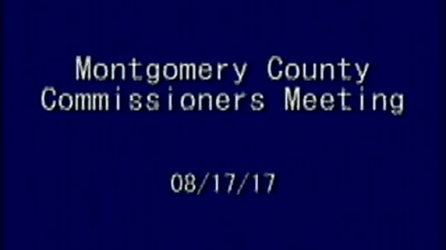 8/17/2017 Commissioners Meeting