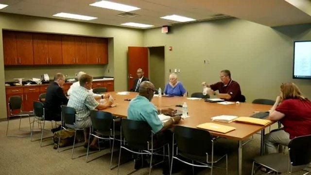 Board of Aldermen Friday Work Session 7-25-17