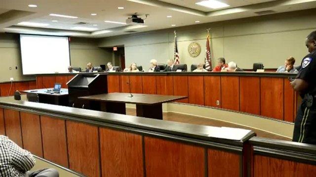 Board of Aldermen Meeting 08-01-17