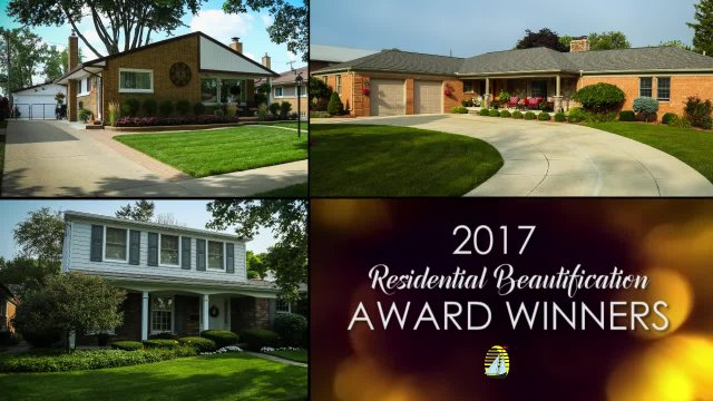 The Mayor's Corner - 2017 Residential Beauts